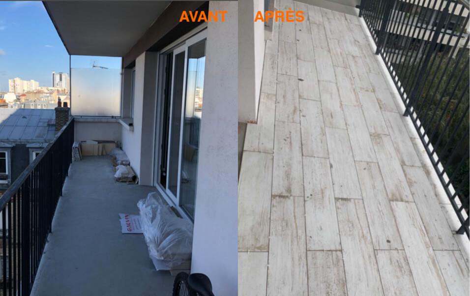renovation-terrasse bois avant apres