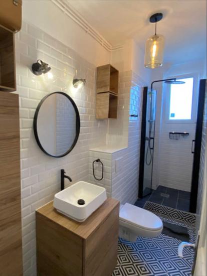 renovation salle de bain paris 16eme après